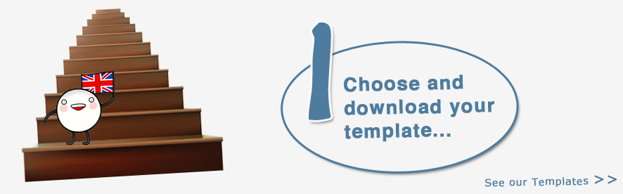Choose and download your template